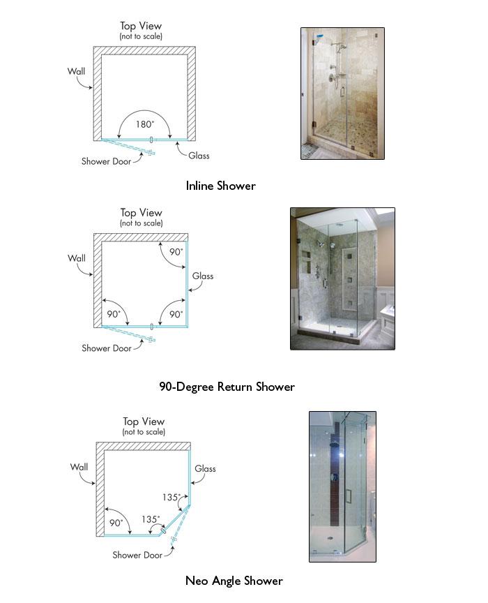 thiết kế phòng tắm kính