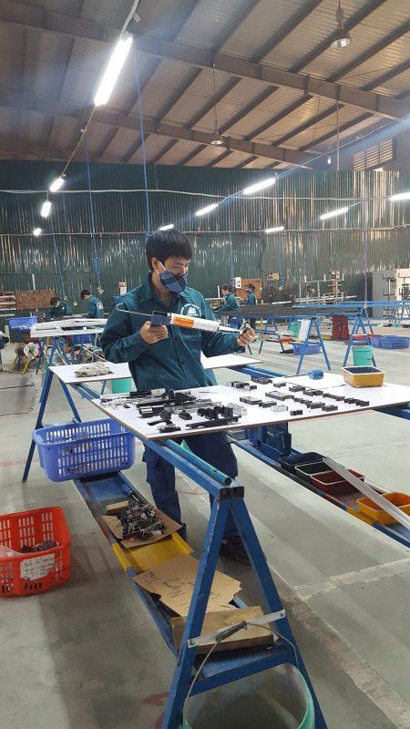sản xuất nhôm kinh