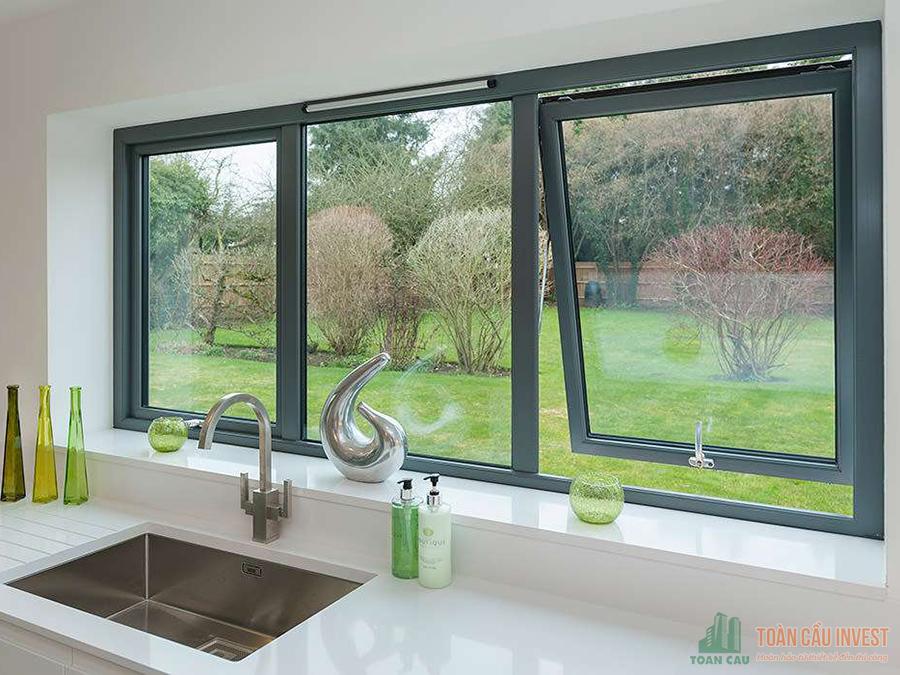 Nhà thầu thi công cửa sổ nhôm kính uy tín chất lượng