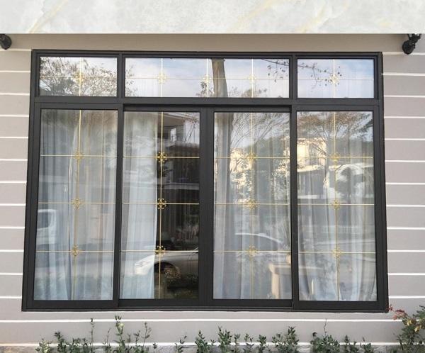 Mẫu cửa sổ nhôm kính đẹp 2021