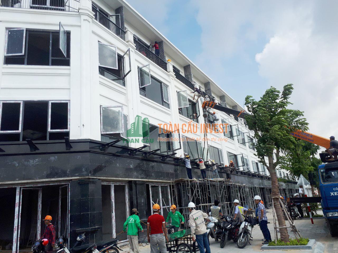 thi công nhôm kính dự án apec Toan Cau Invest