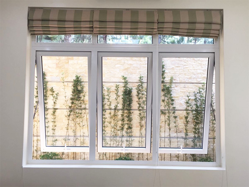 Hệ thống kích thước cửa sổ nhôm kính tiêu chuẩn