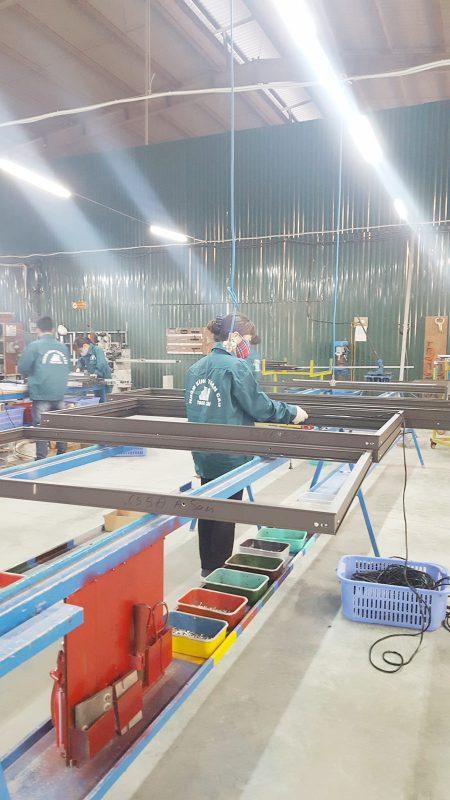 Nhà máy sản xuất nhôm kính  Toan Cau Invest