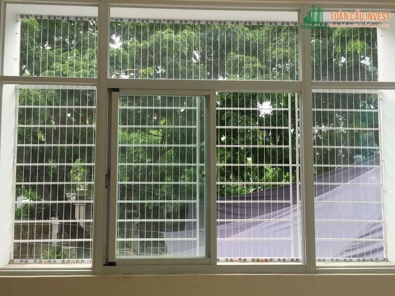 Mẫu khung bảo vệ bằng sắt cho cửa sổ lớn