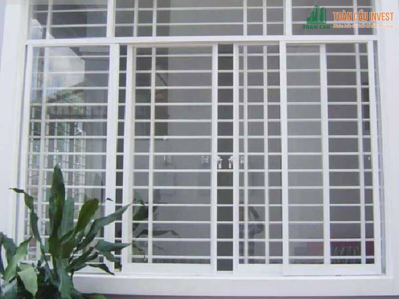 Mẫu khung bảo vệ bằng sắt hộp cho cửa sổ