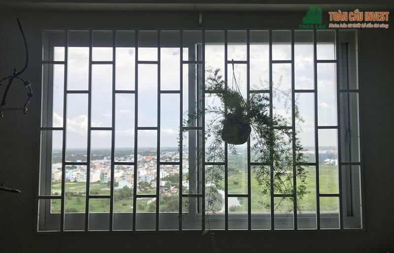Khung bảo vệ cửa sổ CNC bằng sắt an toàn