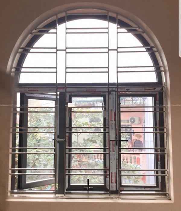 Chấn song cửa sổ inox phổ biến