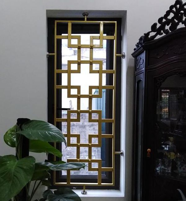 Inox 304 mẫu chấn song cửa sổ inox đẹp