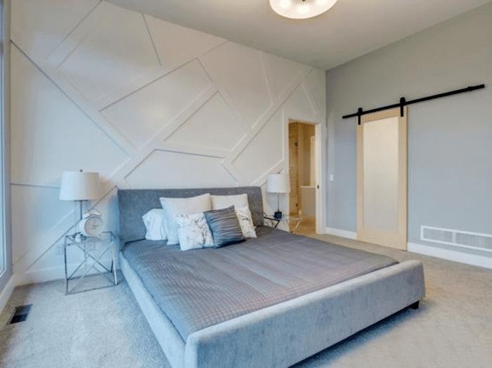 Mẫu cửa nhôm kính 1 cánh phòng ngủ 2021