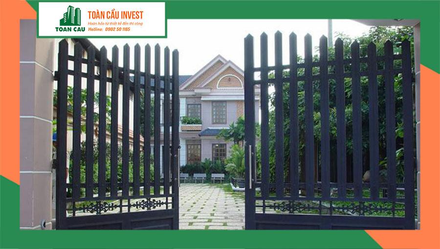 Cách chọn kích thước lỗ ban cửa cổng chuẩn phong thủy